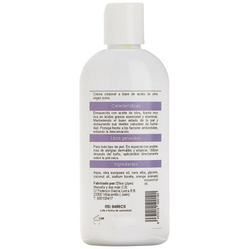 Body milk indicado para pieles atópicas o con dermatits.